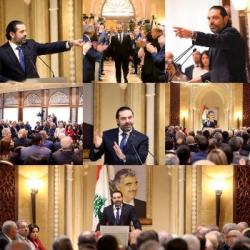 EXCLU CONFERENCE DE PRESSE DU PRESIDENT DU CONSEIL LIBANAIS