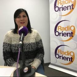 RENCONTRE AVEC Madame  Abir Moussi, présidente du Parti Destourien...