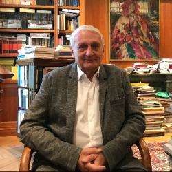 Nicolas Grimal, égyptologue, professeur au Collège de France,...
