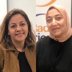 RENCONTRE SPECIALE TUNISIE Lilia Bellil et Saida Ounissi candidates...
